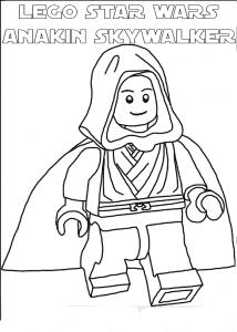 Лего Стар Варс раскраска