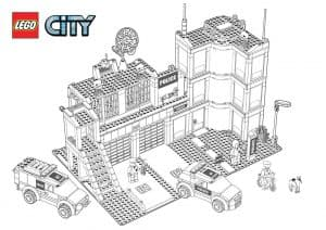 Лего база раскраска