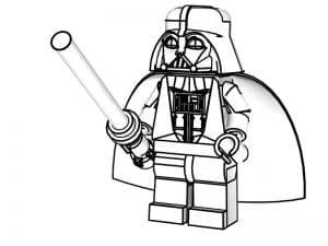 Лего в плаще и мечом