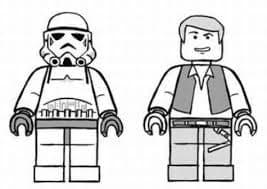 Лего робот и человек