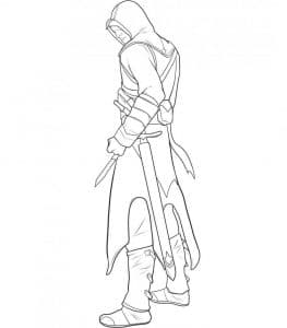 Ассасин с мечом