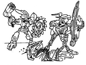 Бионикл Лего битва