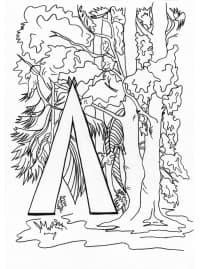 Буква Л и лес