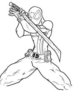 Дэдпул с мечом