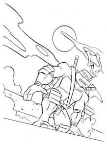 Леонардо черепашка