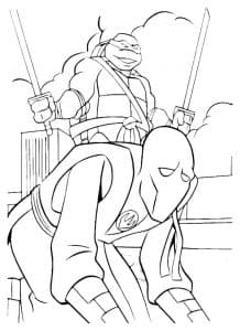 Леонардо и ниндзя