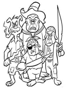 Четыре пирата пса