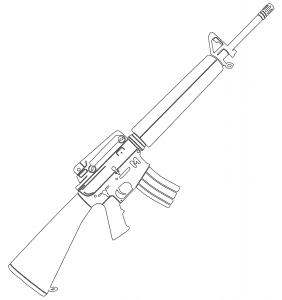 Автомат М-16