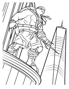 Рафаэль на небоскребе