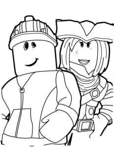 Роблокс Пират и человек