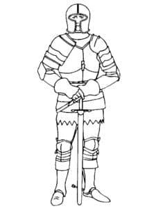 Рыцарь с длинным мечом