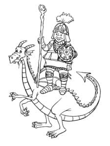Рыцарь на драконе