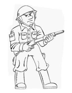 Грозный солдат