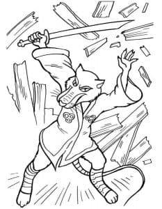 Сплинтер с мечом