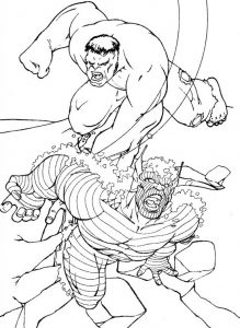 Герои из комиксов