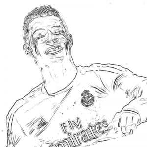 Довольный Криштиану Роналдо