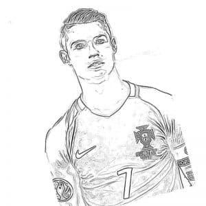 Роналду под номером 7