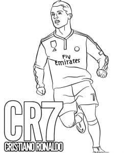 Футболист Роналду