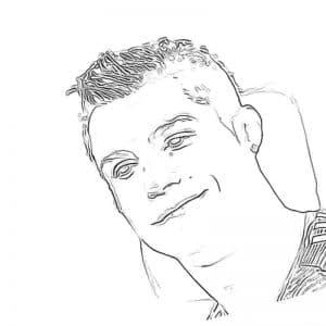 Голова Роналду раскраска детская