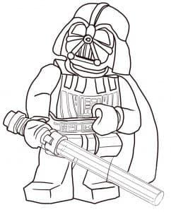 Лего Звездные воины с мечом