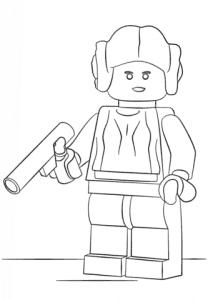 Лего Звездные воины с оружием