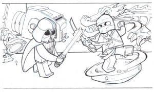 Лего Звездные воины сражаются