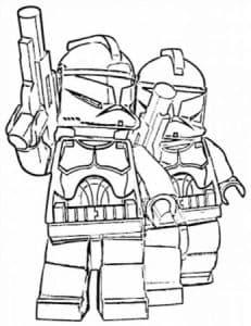 Лего Звездные воины раскраска для мальчиков