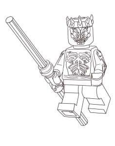Лего Звездные воины с палкой