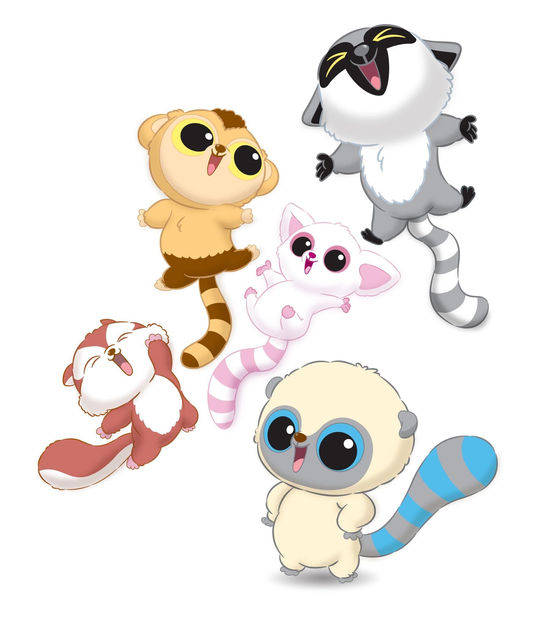Раскраски Юху и его друзья