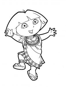 Даша путешественница танцует