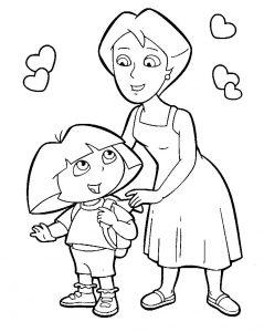 Даша путешественница и мама