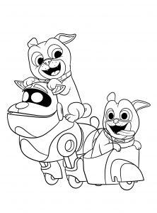 Дружные мопсы
