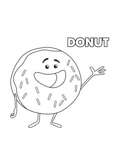 Эмоджи пончик