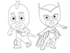 Алетт и Гекко - герои в масках
