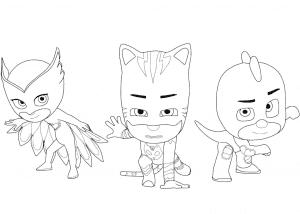 Смелые герои в масках