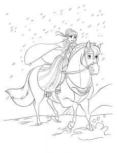 Принцесса Анна на лошади