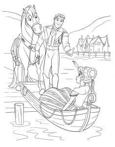 Принц возле лодки