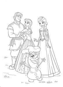 Олаф и его друзья