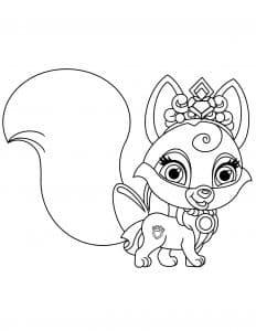 Шикарный королевский лис