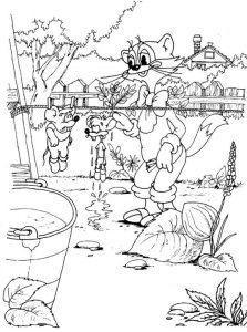 Кот Леопольд и мышки
