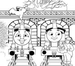Эдварт и Паровозик Томас