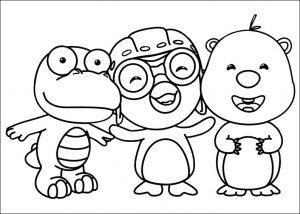 Пингвиненок Пороро и его друзья