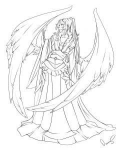 Ангелы аниме