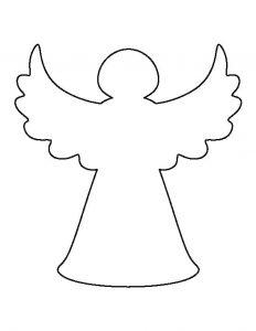 силуэт ангела