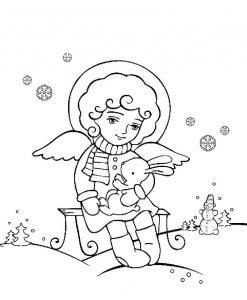Новогодние ангелы