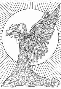 Ангел лебедь