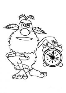 Буба и часы
