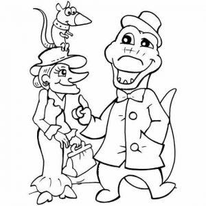 Шапокляк и Гена крокодил