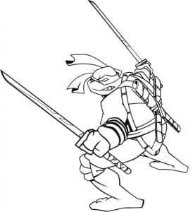 Черепашка с мечами