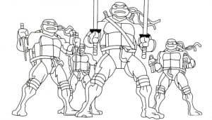 Команда черепашек ниндзя